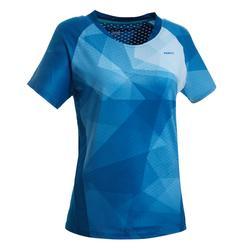女款T恤560-油藍色