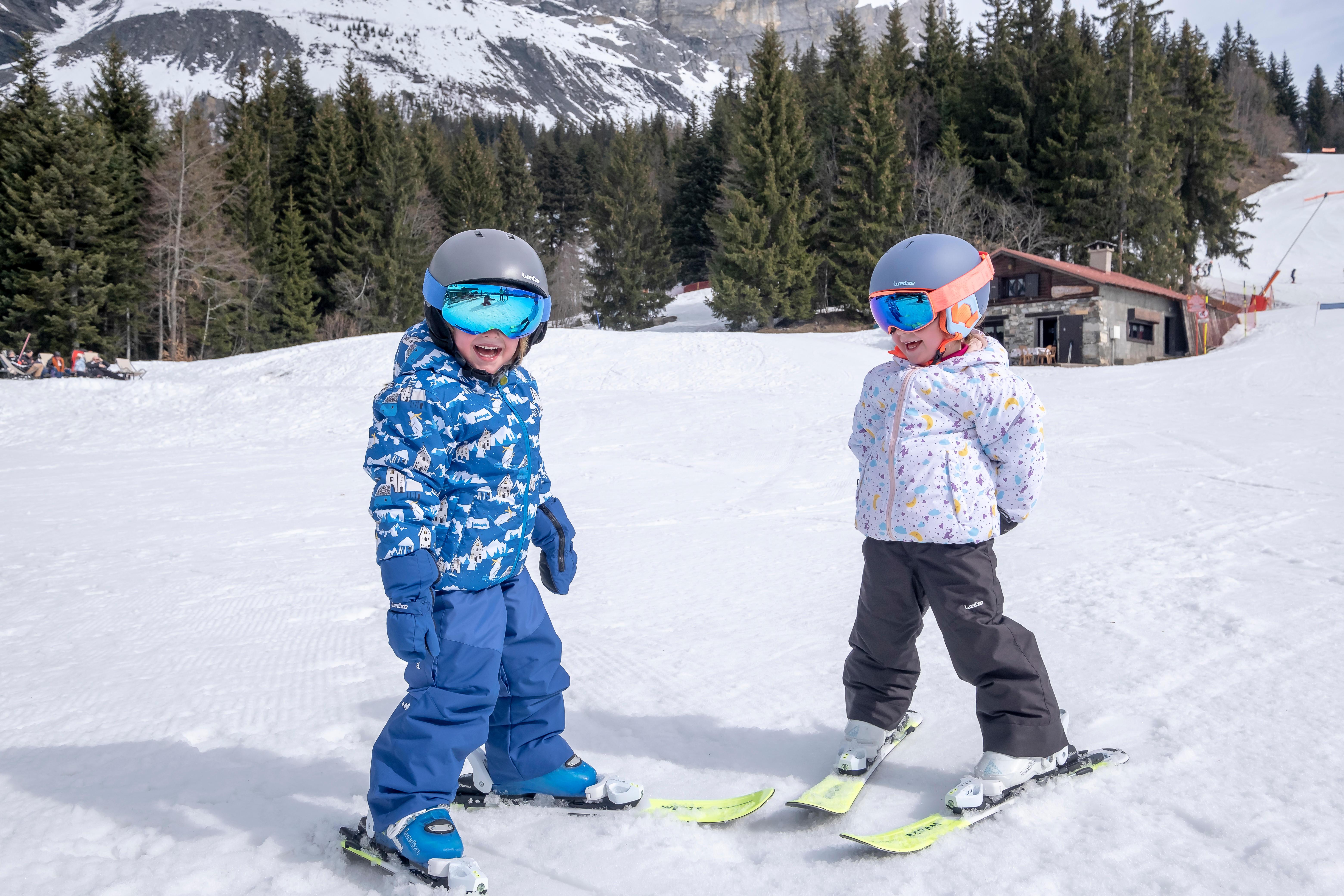 Skibeleidung Kinder