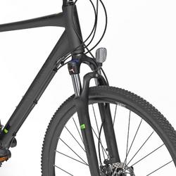"""Cross Bike 28"""" Riverside 700 CTR Herren anthrazit/lime green"""