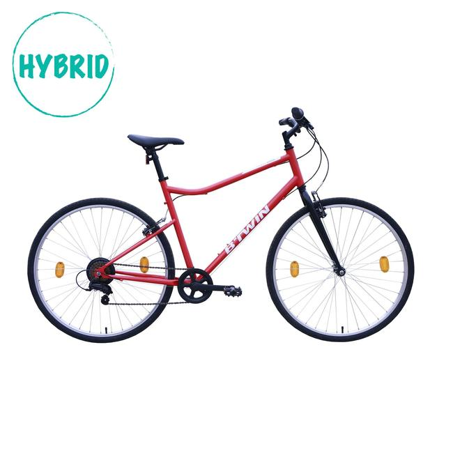 Riverside 100 - Red Hybrid cycle.