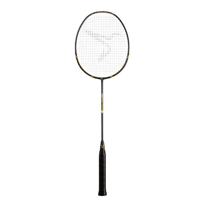 成人款羽球拍BR 500-黑黃配色