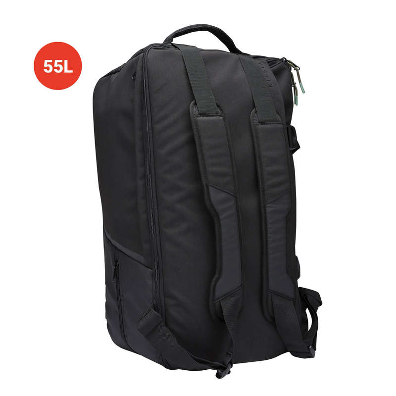 BAG TEAM SPORT Rugby - 55L Sports Bag Intensive Black KIPSTA - Rugby