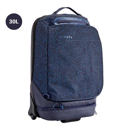 30L Wheeled Team Sports Bag Intensive - Midnight Blue