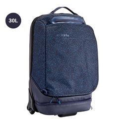 Sac de sports collectifs à roulettes - valise Intensif 35 litres bleue nuit