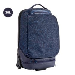 Sporttas op wieltjes Intensif 30 liter blauw