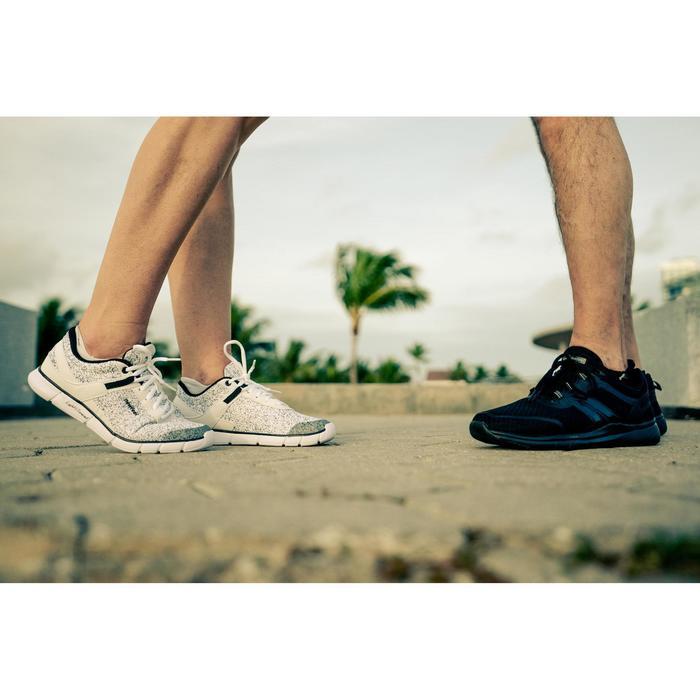 Freizeitschuhe Walking Soft 540 Damen weiß/schwarz