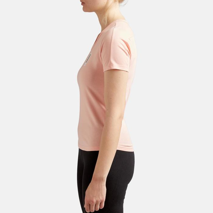 T-shirt voor dames roze