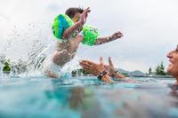 Vaikiškos pripučiamos plaukimo rankovės