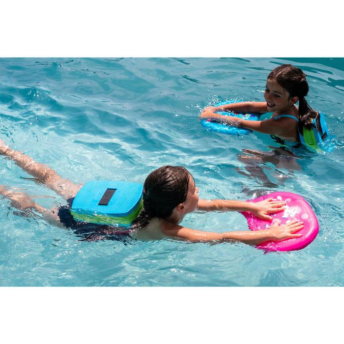 Zwemgordel blauw groen met afneembare drijfhulp 15-30 kg