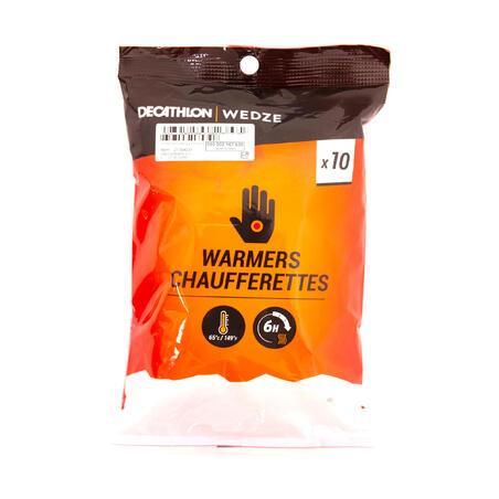 Hand warmers X10
