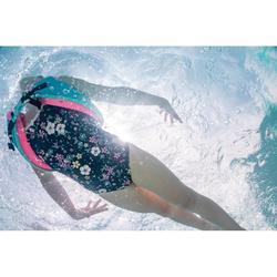 Gilet de natation SWIMVEST+ bleu-rose (15-25 kg)
