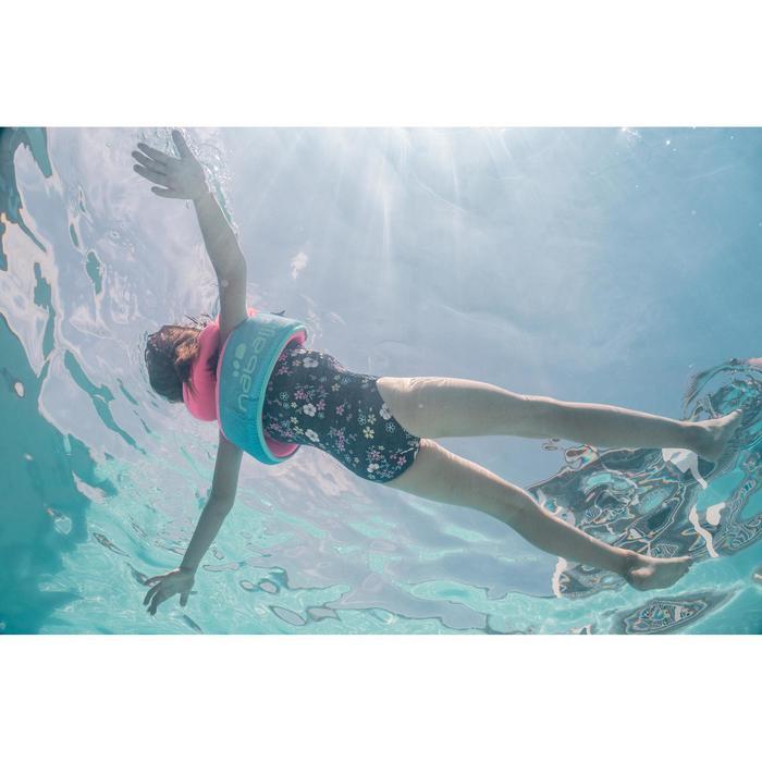 Zwemvest kind blauw/roze 15-25 kg