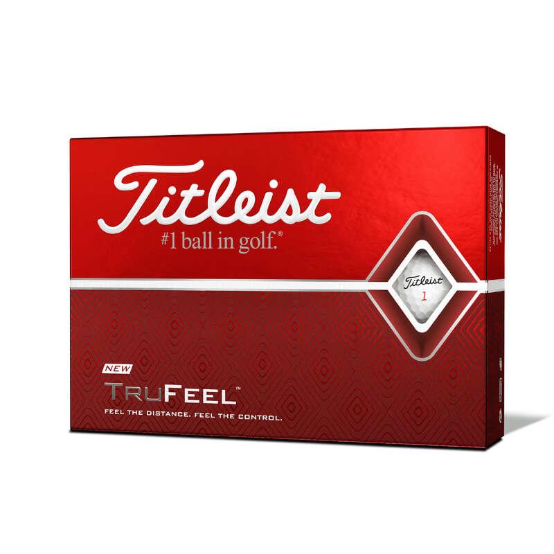 GOLF BALLS, GLOVES, TEES Golf - Ball TRUFEEL X12 White TITLEIST - Golf Balls and Gloves