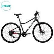 Hybrid Cycle - Riverside 500 - 28 Inch - Grey Red