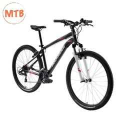 ROCKRIDER ST100 MOUNTAIN BIKE - BLACK