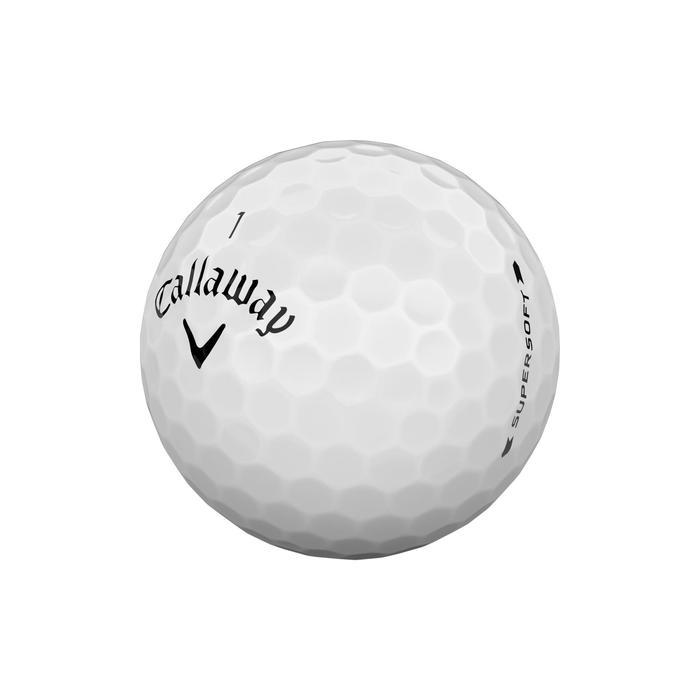 Bola de golf Supersoft x12 blanco
