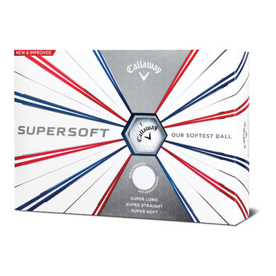 Balle de Golf Supersoft X12 Blanc