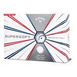 Callaway Golfballen Supersoft x12 wit