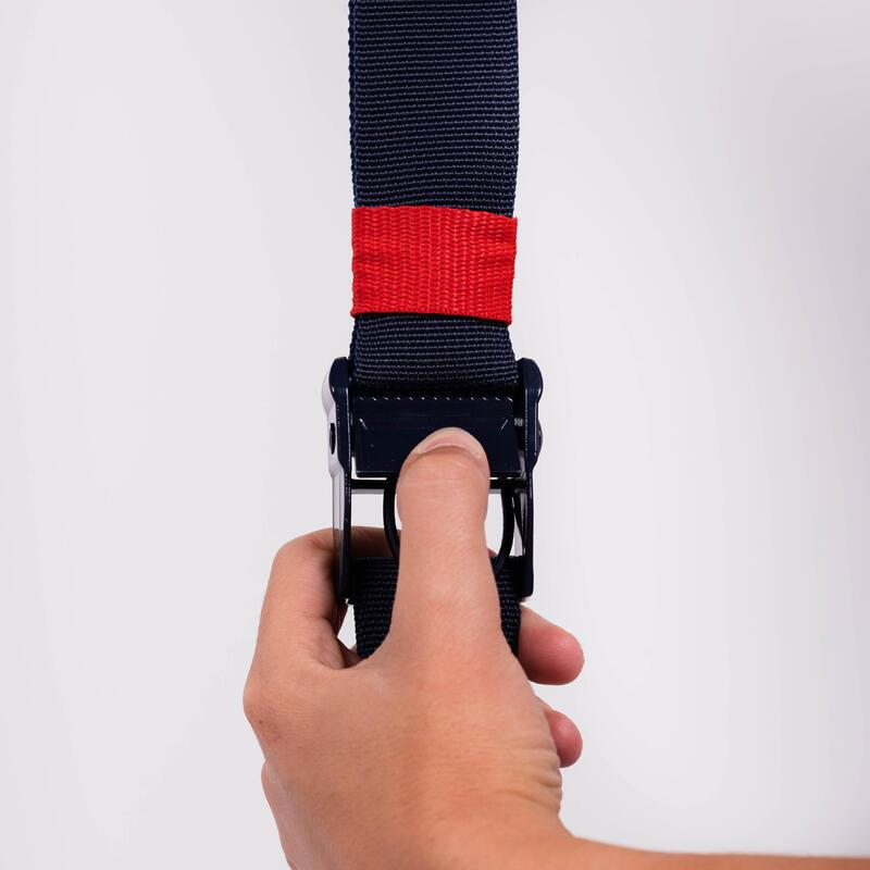 Correas Suspensión DST 100 azul/rojo