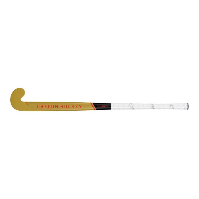 Stick de hockey sur gazon adulte confirmé et expert lowbow 50% carbone Oregon