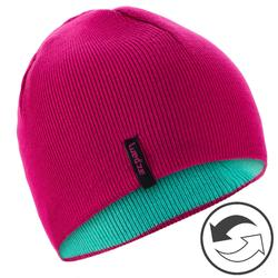 Kids' Ski Reverse Hat - Pink Blue