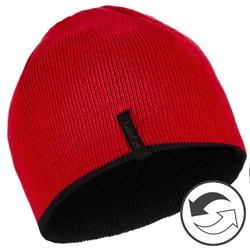 Kids' Ski Reverse Hat - Black Red