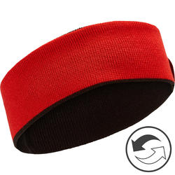 Reverse Children's Headband - Black Red