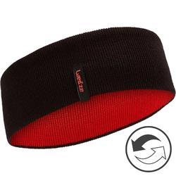 Stirnband Reverse Kinder schwarz/rot