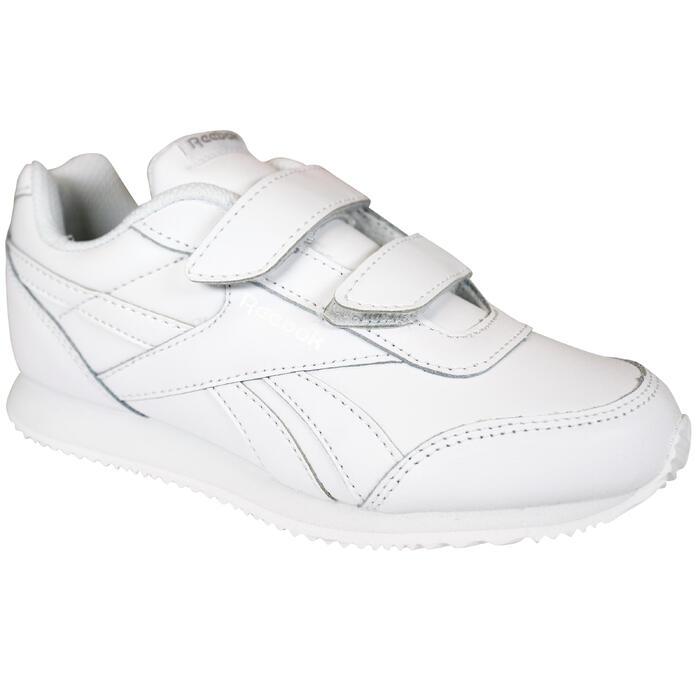 Chaussures marche enfant Reebok Royal Classic blanc scratch