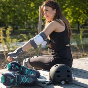 femmes remise au sport roller