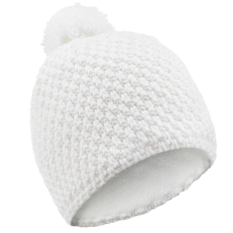 Adult Timeless Ski Hat - White