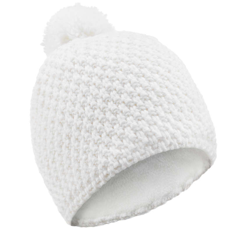 ADULT SKI AND SNOWBOARD HEADWEAR Skiing - TIMELESS HAT - WHITE WEDZE - Ski Wear
