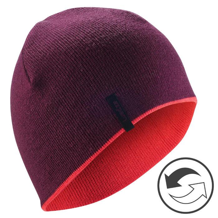 Skimütze Reverse violett/rosa