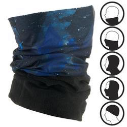 HUG GALAXY SKIING ADULT NECK WARMER BLACK