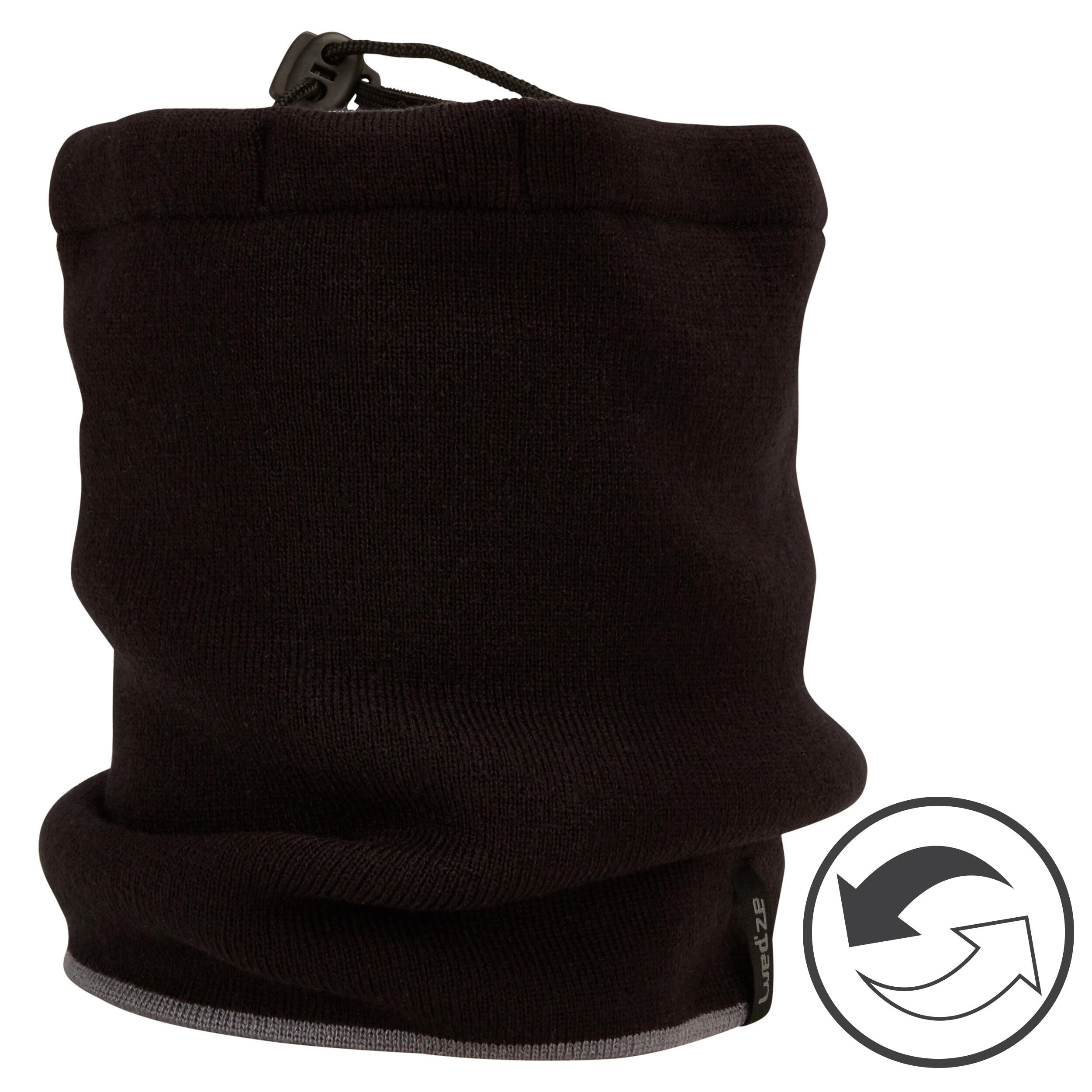 Schlauchschal Reverse Erwachsene | Accessoires > Schals & Tücher | Wedze