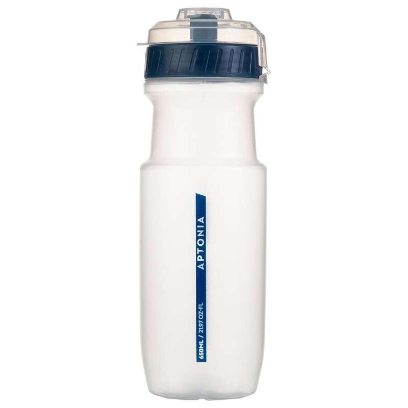 FOLYADÉKPÓTLÁS Táplálékkiegészítő, sporttáplálkozás - Sportkulacs, 650 ml, kék APTONIA - Multisport kiegészítők