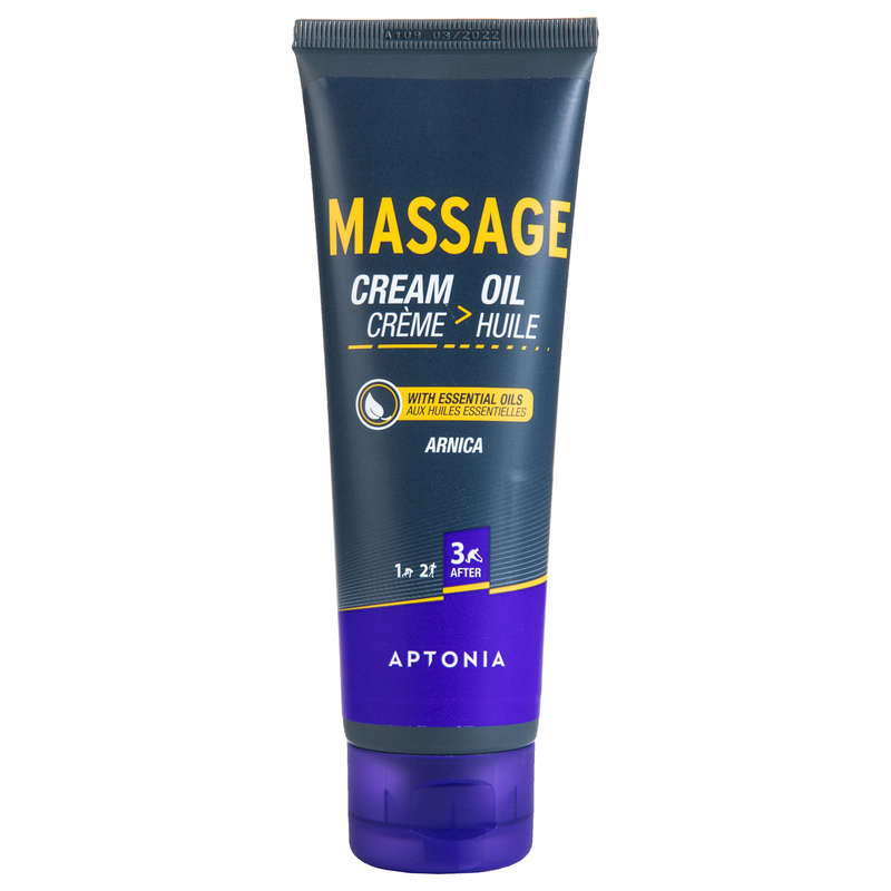 RECOVERY & PREPARATION ACCESSORIES Recovery and Injury - RECOVERY Massage Cream 100 mL  APTONIA - Equipment