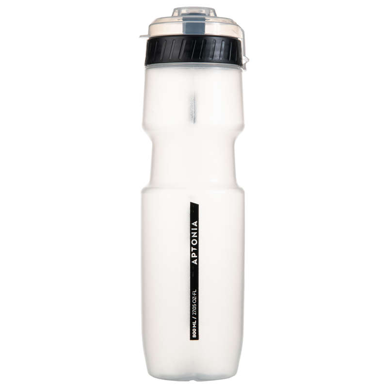 HYDRATION & BEFORE Boxing - Sport Bottle 800 ml - Black APTONIA - Boxing Accessories