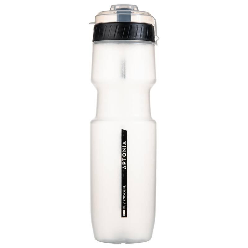 DOPLNĚNÍ TEKUTIN PŘED SPORTEM Triatlon - Sportovní láhev 800 ml černá  APTONIA - Výživa a hydratace