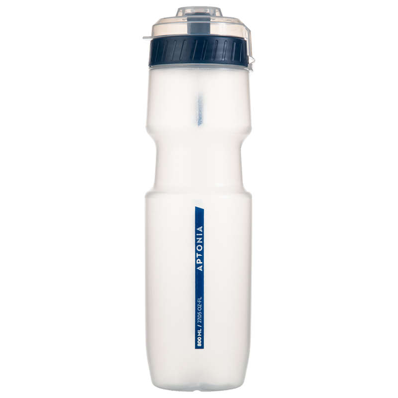 HYDRATION & BEFORE Boxing - Sports Bottle 800 ml - Blue APTONIA - Boxing Accessories