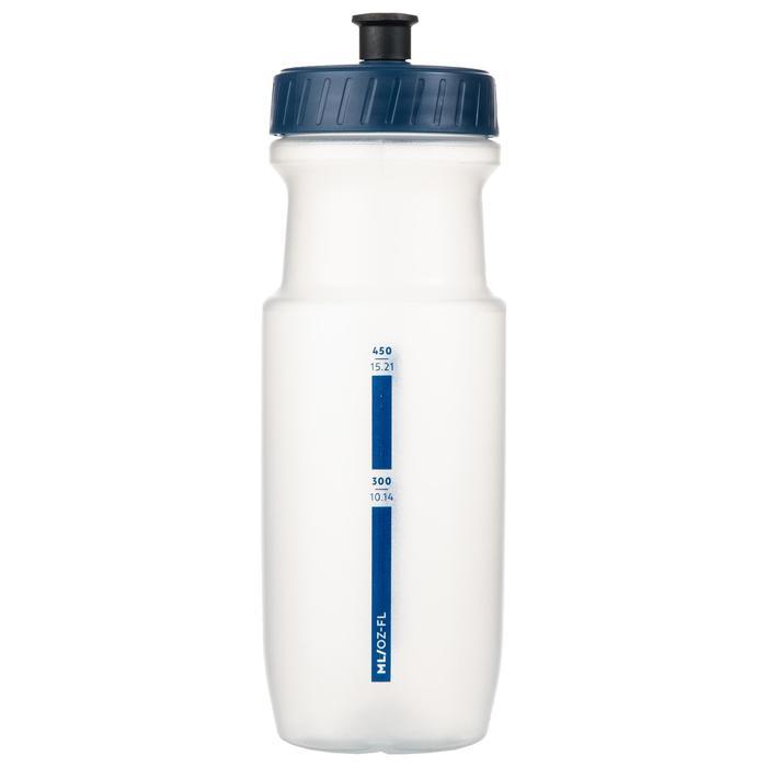 Sportbidon doorschijnend blauw 650 ml