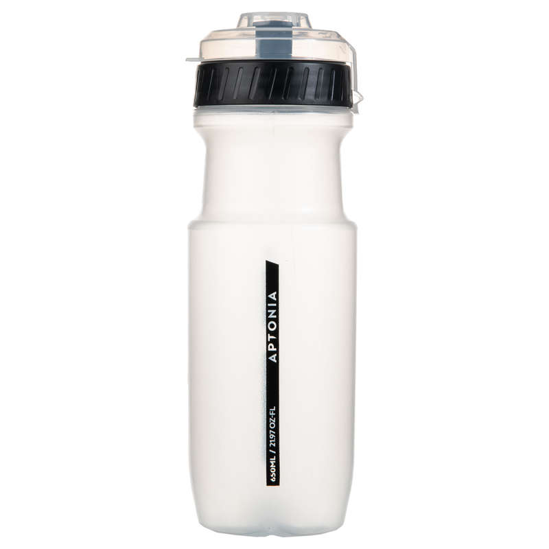 HYDRATION & BEFORE Boxing - Sport Bottle 650 ml - Black APTONIA - Boxing Accessories