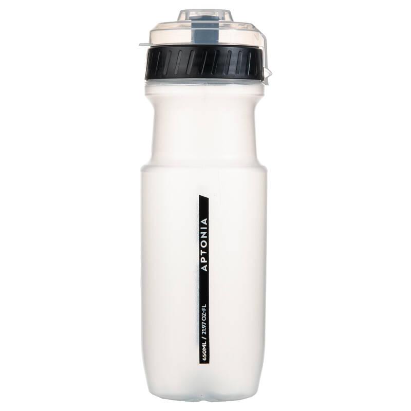DOPLNĚNÍ TEKUTIN PŘED SPORTEM - Sportovní láhev 650 ml černá  APTONIA