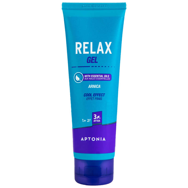 RECOVERY & PREPARATION ACCESSORIES Recovery and Injury - Relaxing Cool Effect Gel 100ml APTONIA - Sport Recovery Equipment