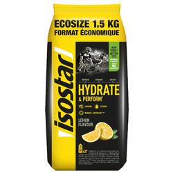 Poeder voor isotone dorstlesser Hydrate & Perform citroen 1,5 kg