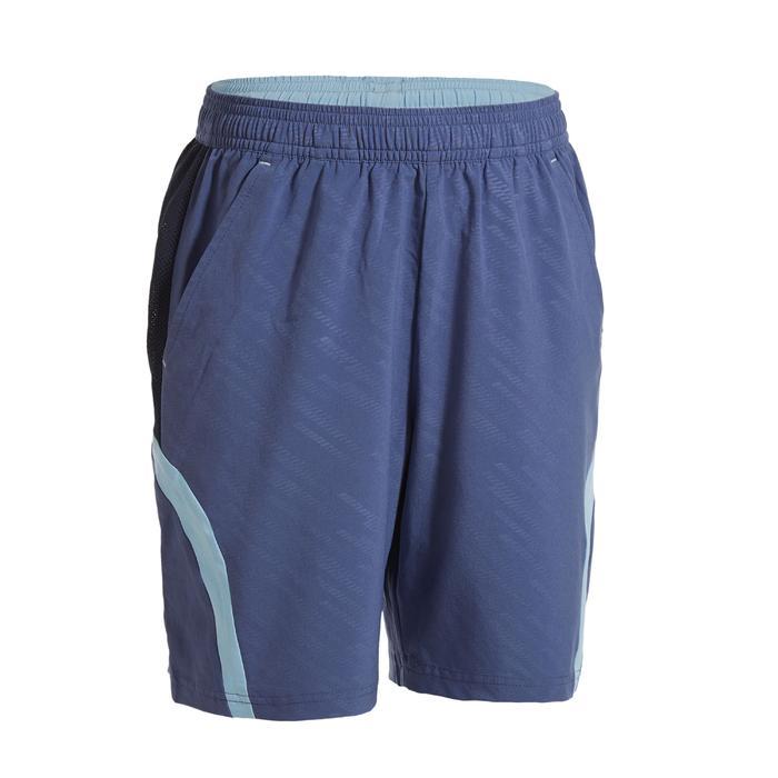 青少年款短褲560灰藍配色