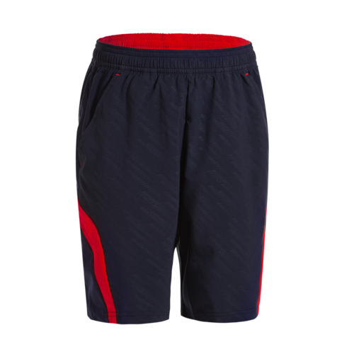Short de badminton Junior 560 - Marine/Rouge