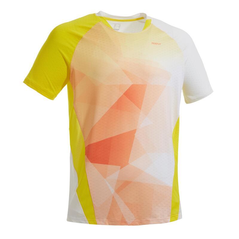T-shirt 560 heren geel