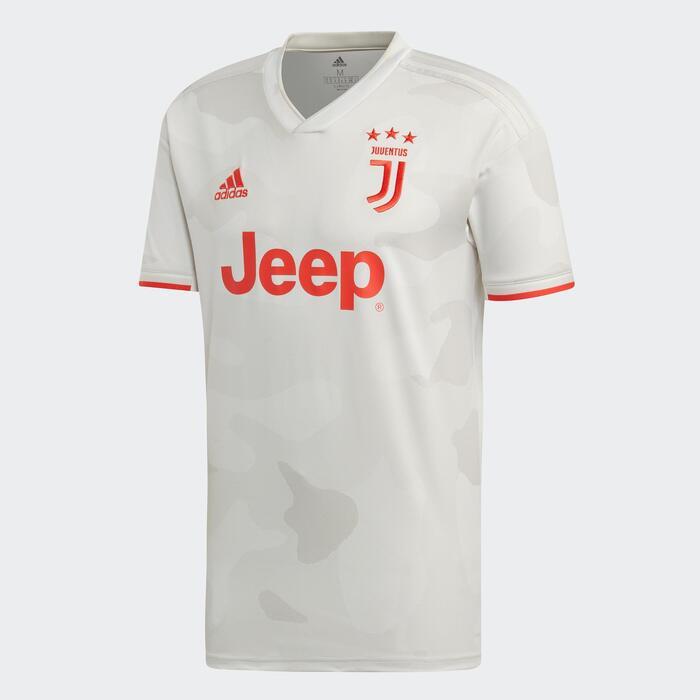 Camiseta Fútbol Adidas Réplica Juventus 19/20 visitante adulto blanco