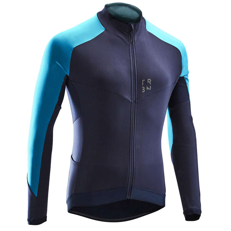 MEN MID-SEASON ROAD APPAREL Cycling - RC500 Long-Sleeved Jersey TRIBAN - Cycling